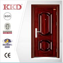 Luxus Serie Stahl Sicherheit Tür KKD-201 mit 3D Oberfläche Panel Made In China