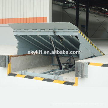 Stationary 6t capacity hydraulic ramps for truck