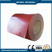 Bobine d'acier galvanisée enduite de couleur enduite d'une première couche PPGI