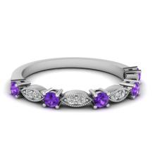 Jóias de moda 925 anel de prata com pedras preciosas