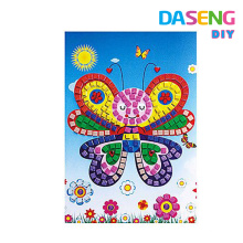 Wholesale kids peel sticker mosaic arts