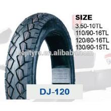 pneus de haute qualité à bas prix moto tubeless 120/80-16