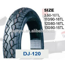 high quality cheap tubeless motorcycle tires 120/80-16