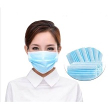 Virus Prevention Non Woven Disposable 3 Ply Mask