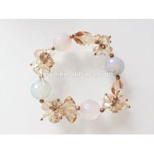 Mode Bling Bling Kristall Perlen Armband