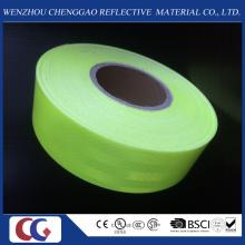 Fluoreszierendes grünes Haustier-Sicherheits-reflektierendes Band / Material