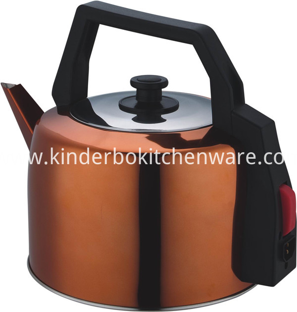 4.1L stainless steel home using tea kettle (brown color))