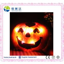Lanterna de abóbora de decoração de Halloween pode fazer voz e luz