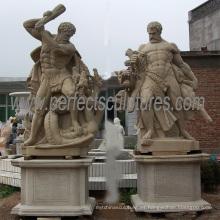 Estatuas de mármol de la talla de piedra del jardín para la escultura de la decoración (SY-X1248)
