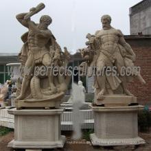 Statues de marbre en pierre de sculpture de marbre pour la sculpture décorative (SY-X1248)