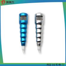 Mini micrófono estéreo de moda de 3,5 mm con auriculares para teléfono móvil