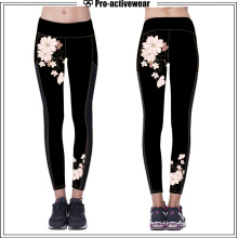 Dry Fit Custom Sublimation Yoga Calças para as Mulheres Atacado Leggings