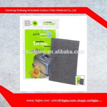 Bac à litière fermé utile et filtre à air de zéolite d'enlèvement d'odeur