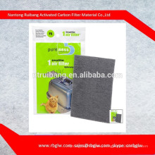 Activated carbon air filter of cat litter tray Ferplast active coal filter