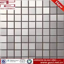 Fornecimento de fábrica foshan Quadrado mosaico de aço inoxidável misturado