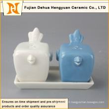 Vente en gros de produits en céramique à base de sel et poivrons en céramique Direct China