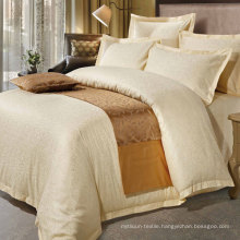 Shiny Cotton Satin Jacquard Luxury Hotel Bedding Set (DPFB80106)