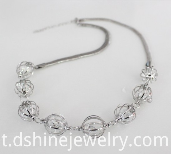 Chain Zircon Necklace Trendy Jewelry
