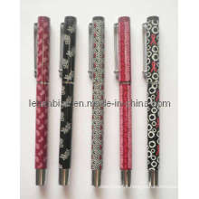 Metal Roller Pen, logotipo de impressão de transferência de calor (LT-C065)
