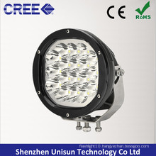 "7"" Waterproof 12V 90W 18X5w CREE LED 4X4 Driving Light"