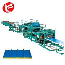Panel sándwich de EPS impermeable que forma la maquinaria