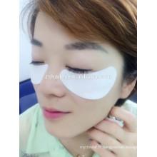 extension de cils, masque pour les yeux lisse