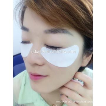 extensão dos cílios, máscara de olho suave