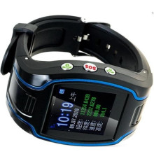 Two Way Talking GPS Watch Tracker with Free Software and 5 Fences (WT100-WL)