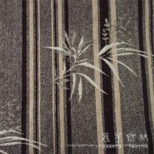 Cortina do jacquard Chenille Viscose e tecido de sofá