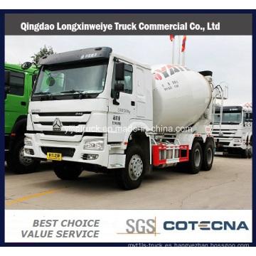 Carro del mezclador concreto de SINOTRUK HOWO de 5-10m 3 Heavy Duty