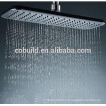 Ultra-dünne Edelstahl-Decke montiert Wasserspar-Regen-Badezimmer-Duschkopf