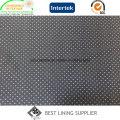Fabricante de China de tecido de forro de impressão de terno de poliéster clássico masculino