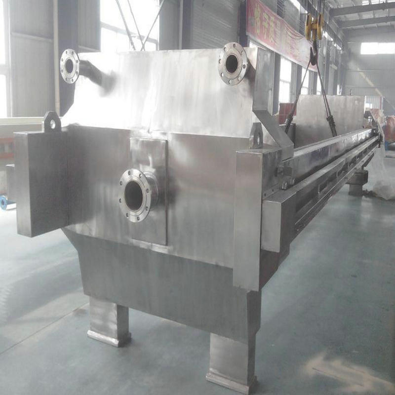 Oil Casting Iron Filter Press