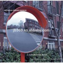 высококачественного пластика большой открытый выпуклое зеркало используется для безопасности дорожного движения
