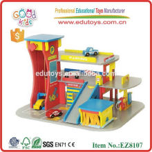 2014 new wooden garage toy for kids,popular garage toy ,hot sale wooden garage toy
