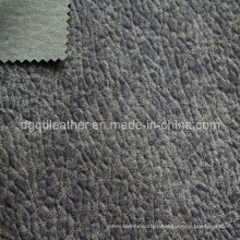 High Quality Breathable PU Furniture Leather (QDL-FB0037)