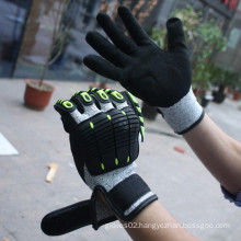 SRSAFETY best quality anti-impact gloves in china 2015 cut resistant gloves in china