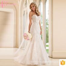Alibaba turquesa vestidos de novia para la Mujer Fat Lace Crystal Beaded Dress