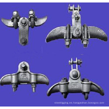 Abrazadera de aleación de aluminio Xgh (tipo de envolvente) (abrazadera de suspensión)