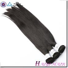 A ordem alinhada da amostra de trama da máquina da cutícula indiana 8A 9A da categoria do cabelo não aceita nenhum emaranhado