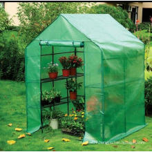 Compact PE Mash Cover Walkin Greenhouse