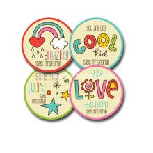 Printing Design Kids Sticker for Promotion