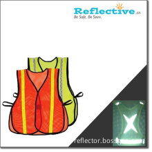 Reflective Safety Vest with Reflective Stripe