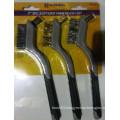 7inch 3PCS Soft Grip Mini Wire Set Brush (YY-577)