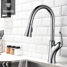 Pojedynczy uchwyt Pull Down Hot Cold Kitchen Faucet