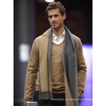 diseño fasion de lujo, bufanda de cachemira 100% pura tejida