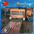 PLC Automatic Color Steel Roofing Sheet Roll Forming Machine