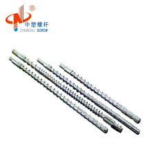 Customized abs pp screw and barrel for extrude machinary machine PPbag