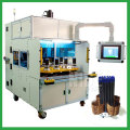 High voltage electrical stator coil winding machine