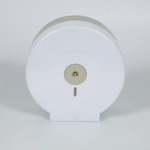 Kertas tisu tandas plastik menggulung pemegang